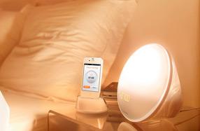 Lámpara despertador de Philips