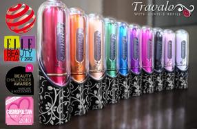 Travalo: vaporizador de perfume recargable de bolsillo