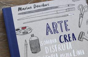 """""""Arte, crea tu libro"""". Genial para aprender a pintar"""