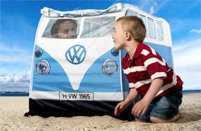 Tienda de campaña Volkswagen para niños