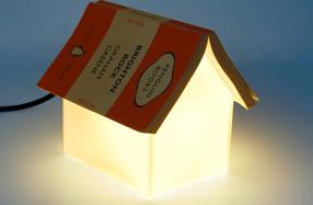 Lámpara para sujetar el libro