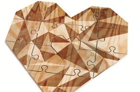 El puzzle corazón más romántico y original