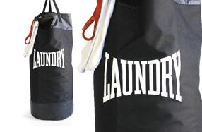 Bolsa para la ropa sucia y saco de boxeo