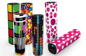 Baterías de bolsillo con los diseños más originales