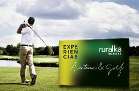 Escapada de golf y aventura de Ruralka