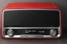 """Radio original retro: la icónica """"Philetta"""" con DAB y Bluetooth"""