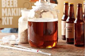 Kit para preparar tu propia cerveza