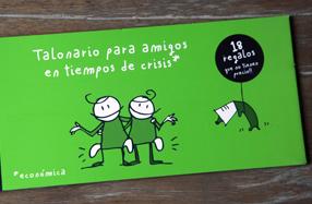 Talonario de amigos en tiempos de crisis