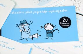 """El talonario para padres e hijos (o """"pequeñ@s superagentes"""")"""