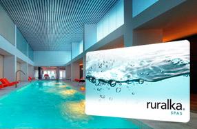 Sesión de spa relajante de Ruralka