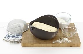 Panera de l ku para hacer pan casero y for Utensilio para amasar