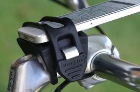 Soporte universal de smartphones para bicicleta