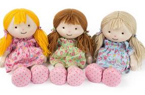 Muñecas de trapo relajantes y térmicas