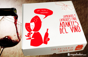 Caja de caprichitos para amantes del vino