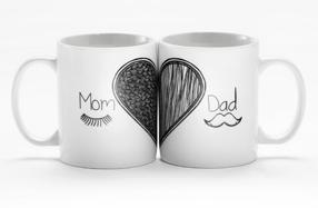 Tazas especiales para padres