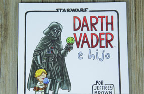 Cómic de Star Wars: Vader e hijo