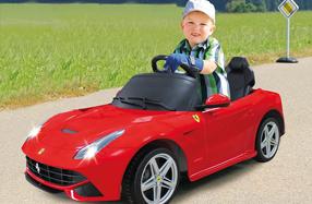 Ferrari F12 Berlinetta para niños
