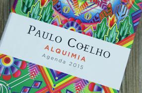 """La agenda """"Alquimia"""" 2015 de Paulo Coelho"""