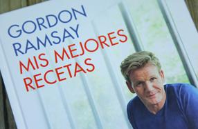 """""""Mis mejores recetas"""" de G. Ramsay (13 estrellas Michelin)"""