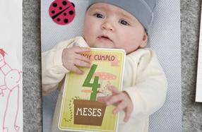 Milestones baby Cards: las tarjetas más divertidas para fotografiar a tu bebe