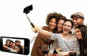Barra extensible para hacer selfies con el smartphone