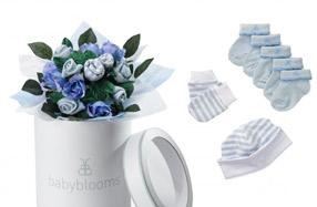 """Bouquet de ropita para bebé: modelo """"welcome baby"""""""