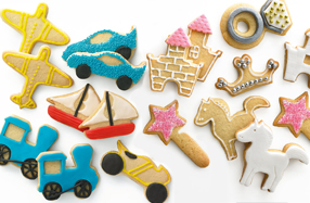 Kit para hacer galletas con formas divertidas