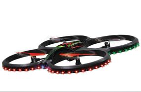 Quadrucoptero Flyscout con cámara