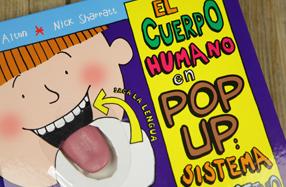 El cuerpo humano en pop up: sistema digestivo
