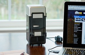 Enfriador USB para las latas de refresco