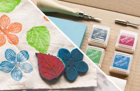 Kit de carvado de sellos premium y estampación textil