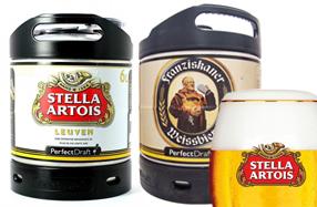 Barriles de cerveza de recambio para la Philips Perfect draft