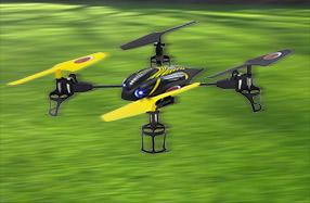 Q-Dronhe: el dron más veloz y fácil de pilotar