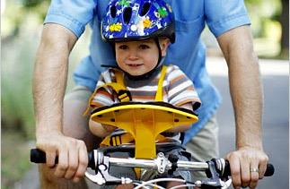 Weeride: la mejor silla para llevar a los niños en bici