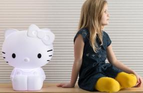Lámpara gigante de Hello Kitty