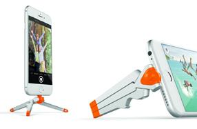 El trípode más compacto para iPhone y android