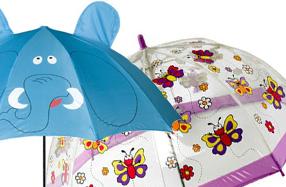 Paraguas pensados para los más pequeños