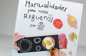 """Libro """"Manualidades para niños rebuenos"""""""