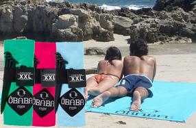 ÔBABA XXL: la sábana de playa doble que no se vuela
