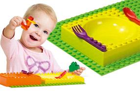 La vajilla más divertida compatible con Lego