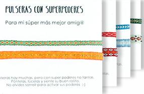Pulseras con superpoderes para personas especiales