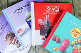 120 Recetas con CocaCola, Chupa Chups, Nutella o La Lechera