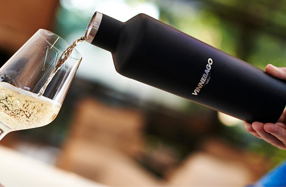 Vinnebago: botella térmica para el vino