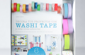 Kit para decorar objetos con washi tape