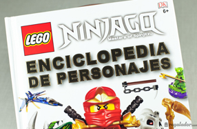 Enciclopedia de personajes Lego Ninja-Go