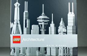 """""""LEGO Architecture"""", el libro para amantes de la arquitectura"""