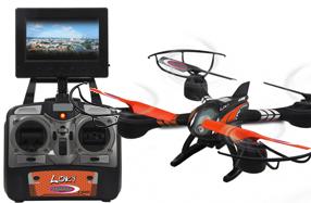 Loky, el drone con cámara y mando con pantalla LCD