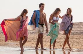 Futah: las toallas-pareo más ligeras y estilosas