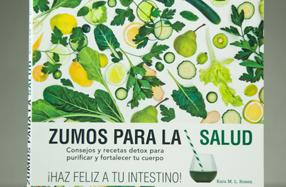 """Libro """"Zumos para la salud"""""""