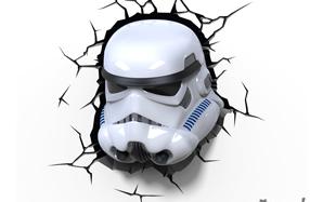 Lámpara 3D Star Wars: Stormtrooper